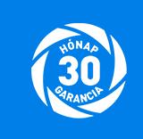 30 hónap garancia
